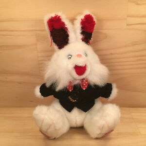"SIR FUZZY THE RABBIT ""White"" Beautiful Soft Toy Stuffed Animal (Elka Australia)"