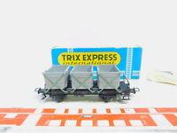 BY149-0,5# Trix H0/DC 3657 Behältertragwagen von Haus zu Haus DB, sehr gut+OVP