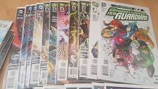NM GREEN LANTERN NEW GUARDIANS THE NEW 52 0-30 + Annual 1 FIRST PRINTS GUARDIAN