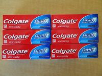 NEW Colgate Cavity Protection Toothpaste - Regular Flavor 1 oz - 6 Tubes