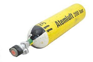 4 Liter Tauchflasche / Druckgasflasche / Atemluftflasche / Pressluftflasche