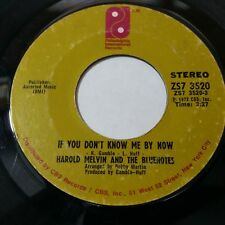 """HAROLD MELVIN & BLUENOTES Let Me b/w If You Don't Know Me By 7"""" 45rpm Vinyl VG"""