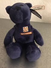 TERRELL DAVIS # 30 PRO BEARS BEANIE BABY LIMITED TREASURES BAG PLUSH BRONCOS