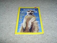 National Geographic Magazine September 2002 Meerkats Issue