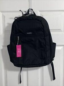 NWT Vera Bradley Lighten Up Grand Black Backpack 21705-481 MSRP $115 NEW