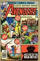 Avengers #197-1980 fn+ 6.5 George Perez / Carmine Infantino