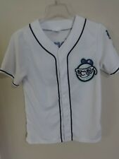 2017 MiLB Asheville Tourists SGA Button Front Baseball Jersey Youth L Rockies