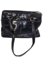 Womens Handbag - Giani Bernini   Black Genuine Leather Purse