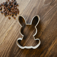 Easter Bunny Rabbit Cookie Cutter - Fondant, Sugarcraft & Biscuit - 3 Sizes