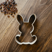 Easter Bunny Rabbit Cookie Cutter - Biscuit Cutter - Fondant Cutter - 3 Sizes