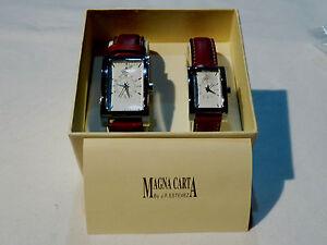 Bijou montre Schweppes homme et femme bracelet marqué Magna Carta  J F Estevez