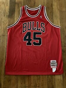 Rare Vintage Michael Jordan Chicago Bulls The Last Dance #45 Jersey Men's 2X