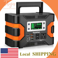 330W Portable Power Station 300Wh 81000mAh Solar Generator CPAP Backup Battery