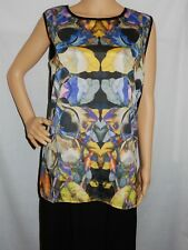 """""""EMBELLISHED"""" - Great PreLoved - Size 10 - Multicolored Sleeveless Casual Top"""