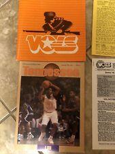 Vintage,Tennesee Vols Basketball,1991 LSU Media Package,program,folder,Shaq,
