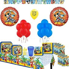 Mickey Mouse Roadsters Deluxe Birthday Party Supply and Balloon Kit