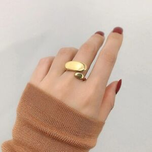 Dainty Stacking Ring  Geometric Ring  Brass Ring  Minimalist Ring  Silver Stacked Rings  Moon Ring  Stackable Rings  Silver Ring