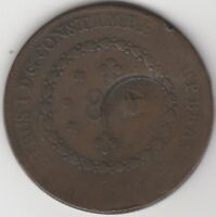 1827 Brazil Overstruck 40 Over 80 Reis | World Coins | Pennies2Pounds