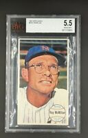 1964 Topps Giants #8 Roy McMillan New York Mets BVG / BGS 5.5 EX+ *BIG SLAB*