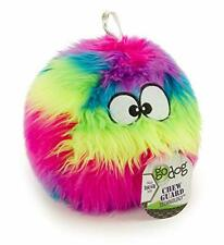 New listing Furballz with Chew Guard Technology Plush Dog Toy, Large (Pack of 1) Rainbow