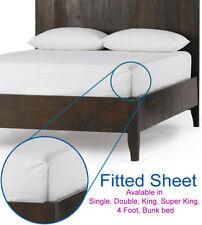 Sábanas y fundas de cama sin marca