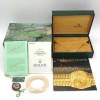 GENUINE ROLEX 16710 GMT-Master II guarantee watch box case 68.00.71 tag 0228002m