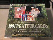 1991 PGA Tour Cards Pro Set Trading Cards Sealed Box