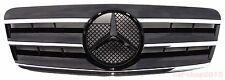 Front Grille for W208 97-02 Mercedes-Benz CL Style Chrome & Black CLK320 CLK430