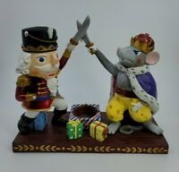 Rare Yankee Candle Christmas Nutcracker & Mouse King Votive Candle Tart Warmer