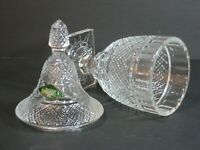 """Shannon Crystal By Godinger Designs of Ireland Covered Footed Urn 9"""", NIB! Rare!"""