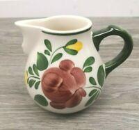 Milchkanne Bauernblume Villeroy & Boch Porzellan Vintage Milchkännchen m.Henkel