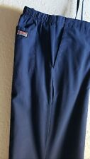 "Cherokee Scrub Bottom Navy Blue in Excellent Condition Waist 36"" Inseam 29"" Sz M"