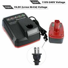 Cargador de batería para 19.2 Volt Li-Ion & Ni-CD Craftsman C3 PP2020 315.CH2030 65W