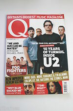 Q Magazine November 2002: U2/Foo Fighters/Nelly/Vanessa Carlton/Graham Coxon
