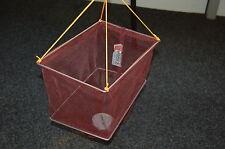 HOOKZONLINE rectangular crab drop net with bait clip & rope