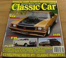 2004.CLASSIC CAR.HX MONARO.HR PREMIER.FB HOLDEN.CITROEN DS23.Rover.FIAT