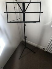 music stand foldable