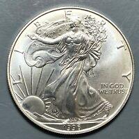 1996 Silver Eagle, KEY DATE! (57385)