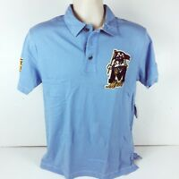 Disney Mens S Blue Polo Shirt Mickey Mouse Walt Disney World Exclusive New