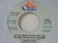 Tamiko Jones 45 I'M THE WOMAN BEHIND THE MAN mono / stereo ~ M- to VG++