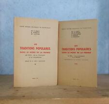 CHANDELEUR CARNAVAL FETES TRADITIONS POPULAIRES DANS LE NORD (2 FASC., 1945-56).