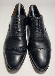 Allen Edmonds Hale Cap-Toe Oxford Black Men US Size 9.5