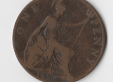 1896 BRITISH COIN ONE PENNY