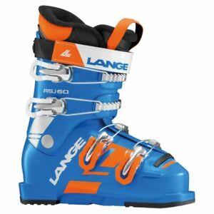 2019 Lange RSJ 60 Junior Ski Boots | Mondo 21.5, Kid's Boot | USED