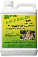 Kelp Green Liquid Organic Based Plant Food 1 Qt. (Seaweed Extract Fish Nutrient)