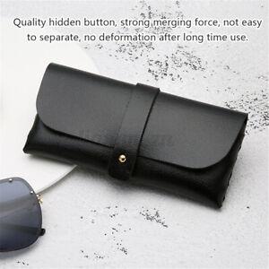 Soft PU Leather Glasses Storage Bag Case Eyeglasses Sunglasses Carrying