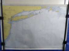 """Nautical Chart C.&G.S #1108 New York 1957 map approx. 34""""X48"""""""