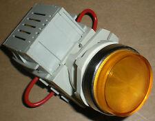 BACO T10SA40-3EAYL 30MM YELLOW AMBER PILOT LIGHT 23EA 120-6V TRANSFORMER 23 EGA