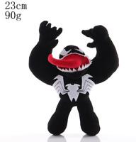 "2020 New Marvel Venom Cartoon Soft Plush Stuffed Toys Dolls Kids Gifts 9""/23cm"