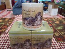 Beautiful Leanin Tree Wolf Mates W/ Verse Coffee Mug New !